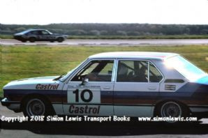 BMW 320i (Tom Walkinshaw) RAC Saloons (BTCC) phot. Silverstone 6 June 77 (finished 6th)